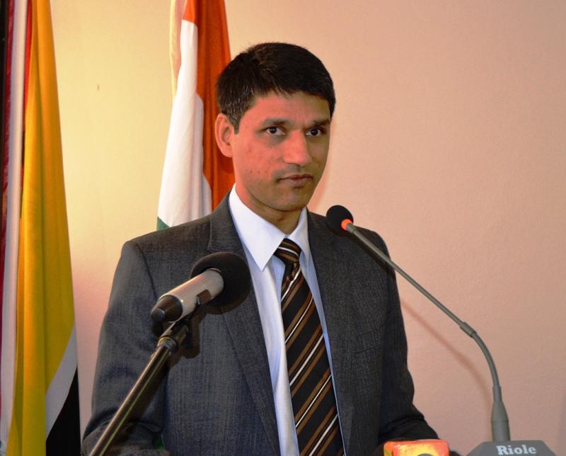 Rudra Shresth Alto Comissário da Índia em Moçambique