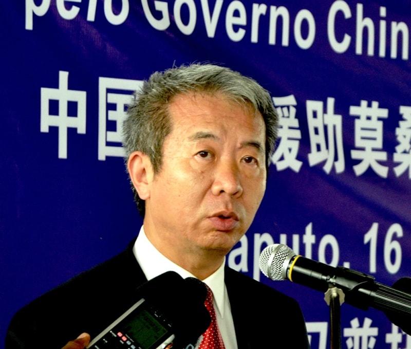 Su Jian embaixador da República da China min