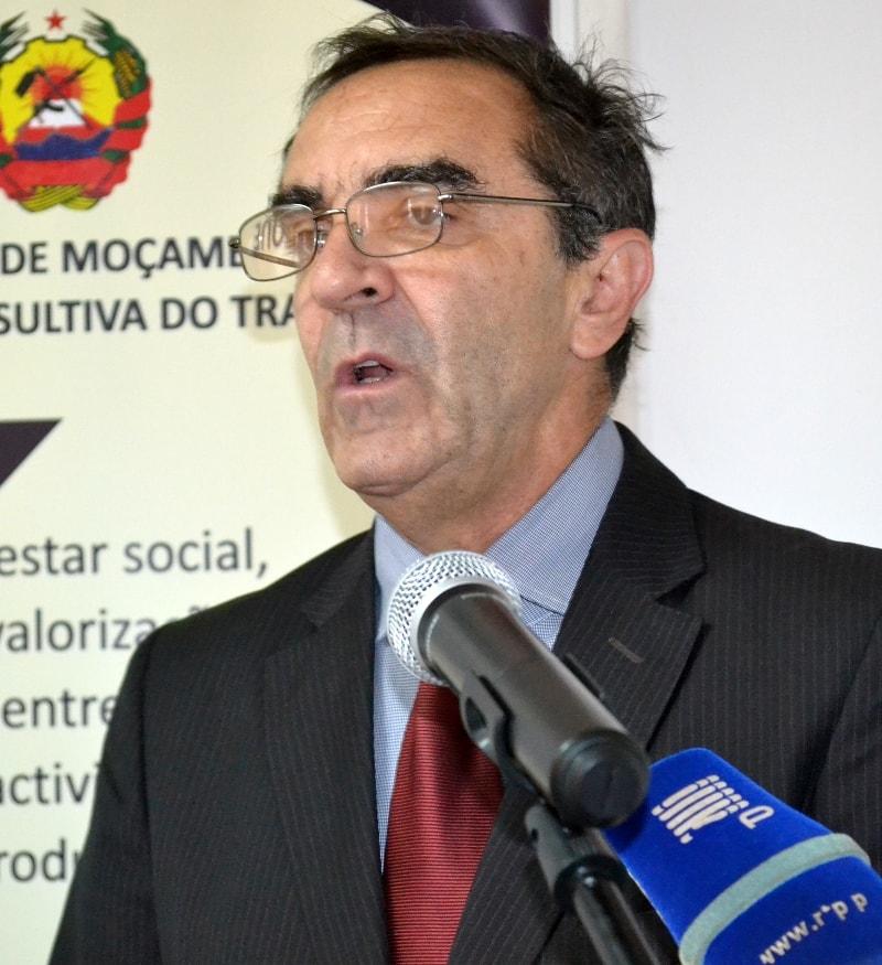 Edmundo Werma representante da OIT em Moçambique