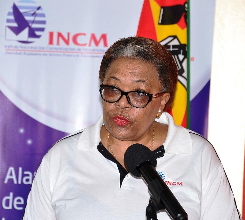 Ema Chicoco presidente do Conselho de Administração do Instituto Nacional de Comunicações de Moçambique