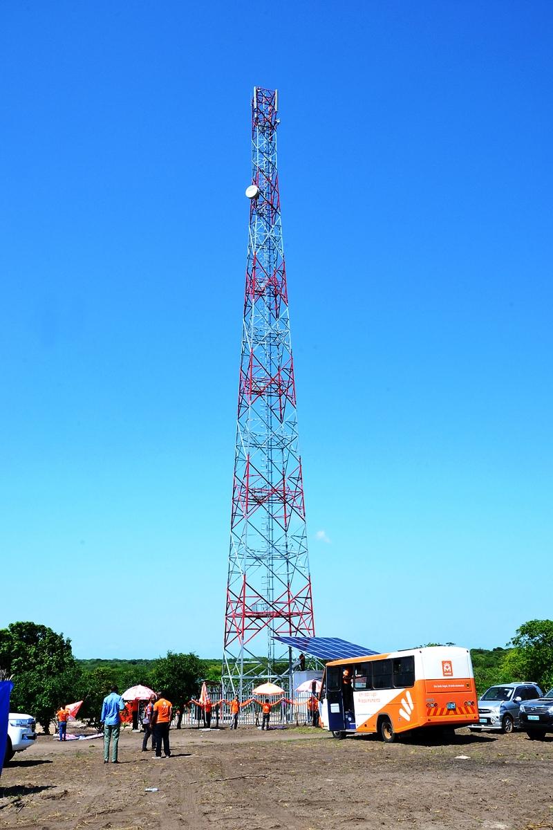 Estação de telefonia móvel celular de Vundiça