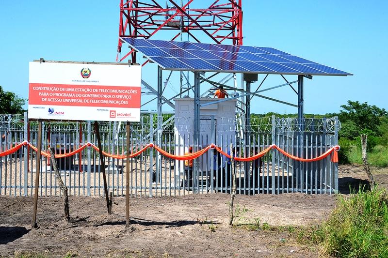 Estação de telefonia móvel celular de Vundiça 01