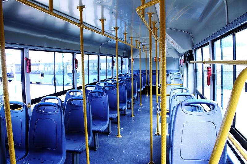 Interior dos autocarros
