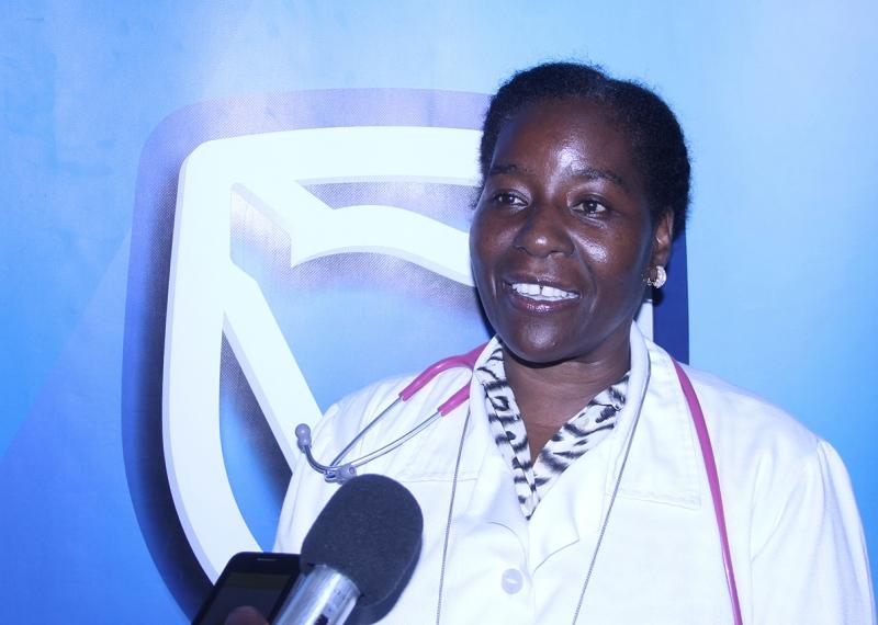 Maria Safrina Directora dos Serviços de Pediatría do Hospital Geral José Macamo