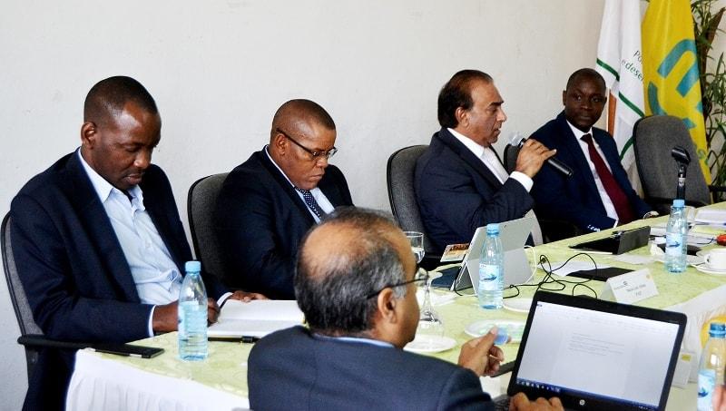 Participantes no 2º conselho de Direcção Alargado