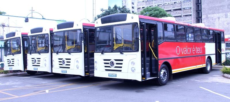Parte de autocarros entregues ao sector privado da área metropolitana de Maputo