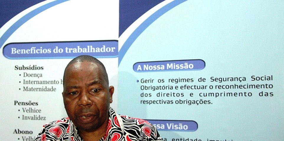 Alfredo Mauaie Director Geral do INSS min