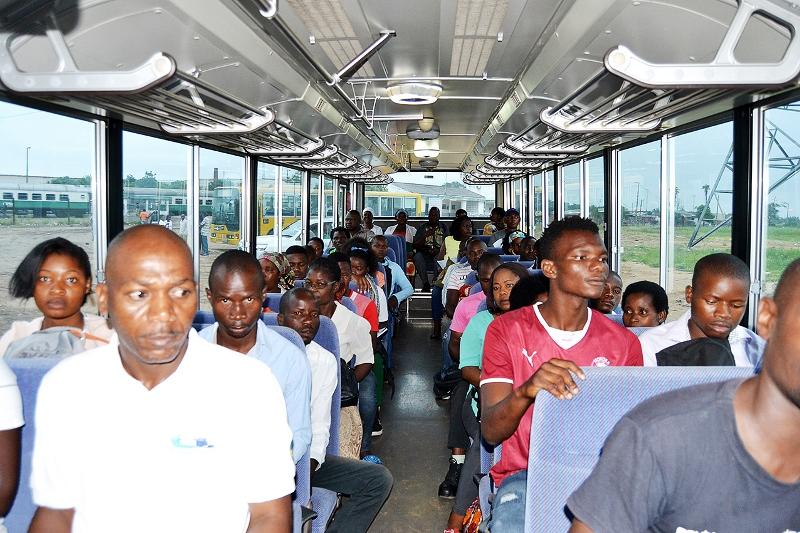 Utentes do Metrobus
