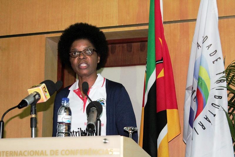 Amélia Nakhare presidente da AT