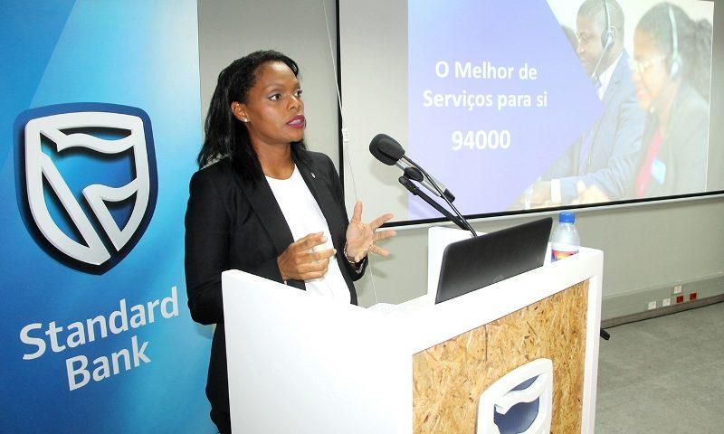 Apresentação do Centro de Negócios pela Francisca Bugalho Zango