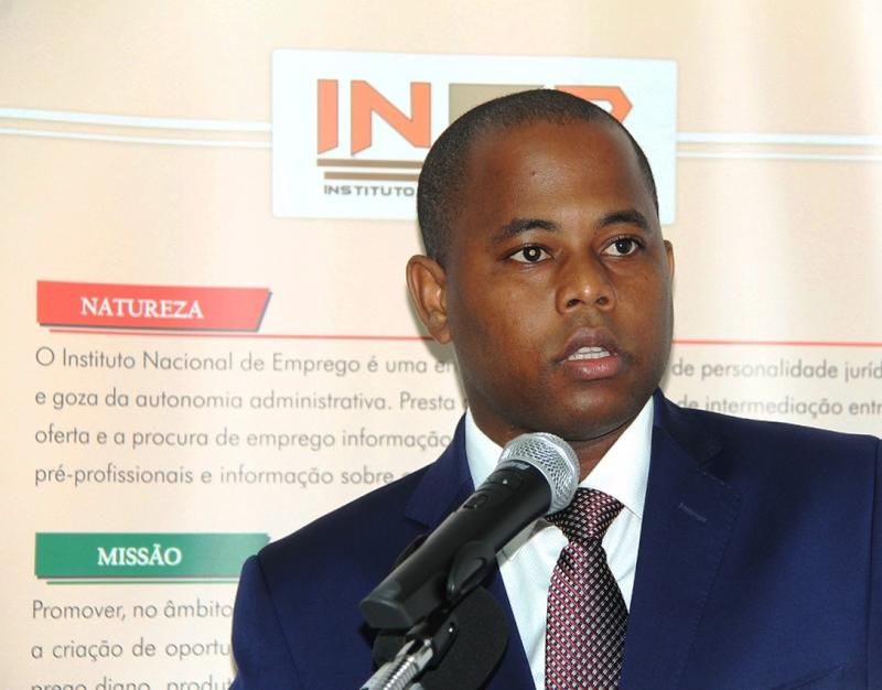 Oswaldo Petersburgo Vice Ministro do Trabalho Emprego e Segurança Social