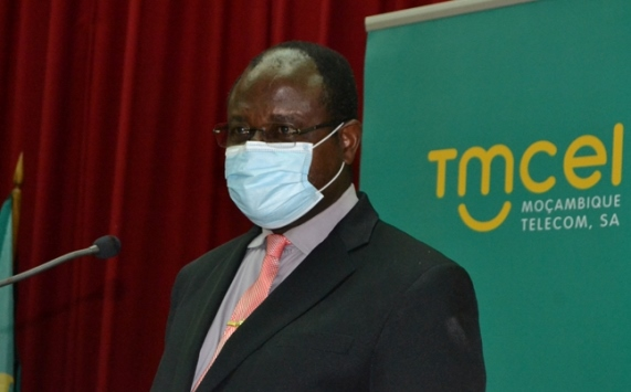 Jose Magode Reitor da Universidade Joaquim Chissano