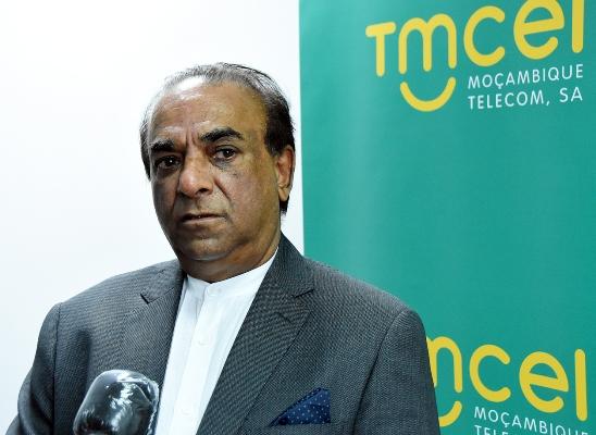 Mahomed Rafique Jusob presidente do Conselho de Administracao da Tmcel 1