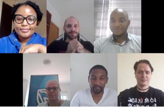 Membros do Juri do SeedStars Maputo 2020