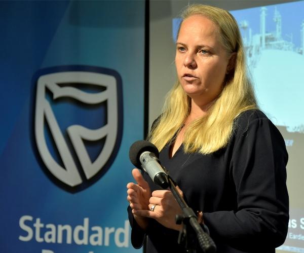 Sasha Vieira responsavel pela Incubadora de Negocios do Standard Bank