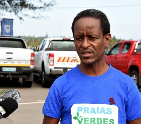 Silva Magaia vereador para area do Ordenamento Territorial Ambiente e Urbanizacao do Conselho Municipal da Cidade de Maputo