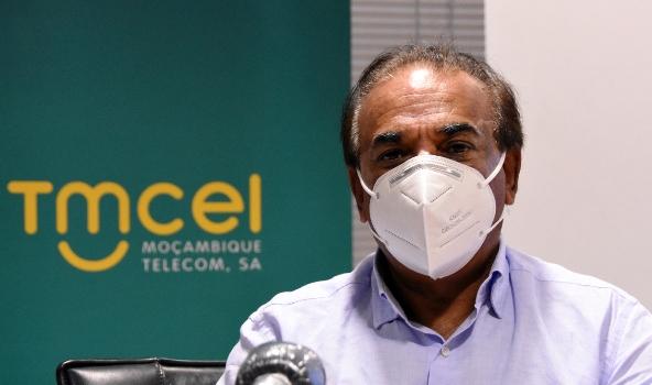 Mahomed Rafique Jusob presidente do Conselho de Administracao da Tmcel 3