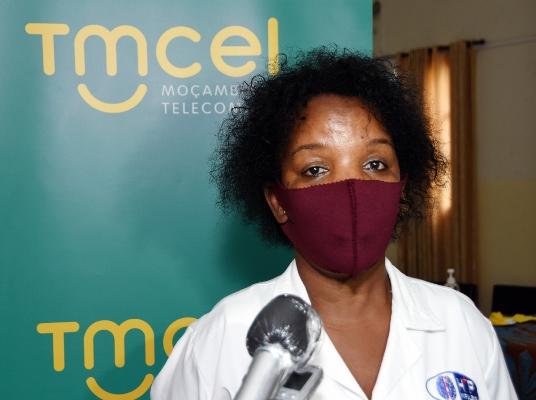 Serena Chachuaio directora do Hospital Psiquiatrico de Infulene