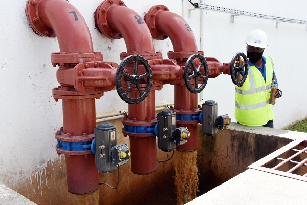 Pontos de descarga de lama residuos e sedimentos 1