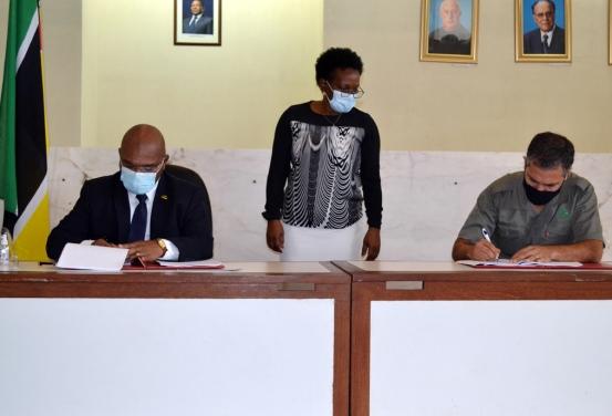 Assinatura dos acordos 1