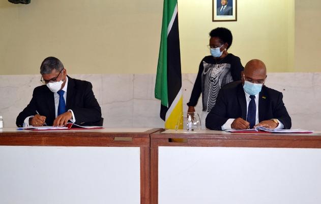 Assinatura dos acordos 2