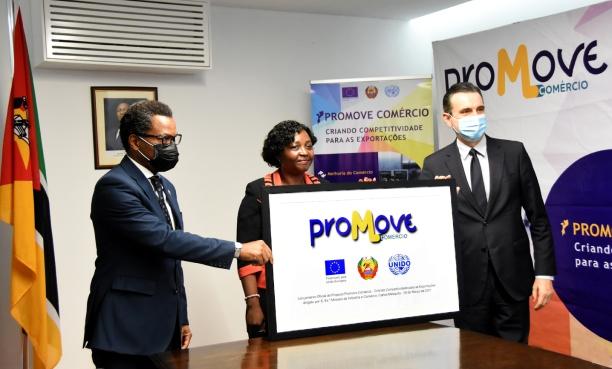 Lancamento oficial do projecto Promove Comercio