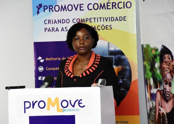 Ludovina Bernardo vice ministra da Industria e Comercio