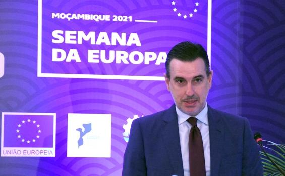 Antonio Sanchez Benedito Gaspar embaixador da Uniao Europeia em Mocambique