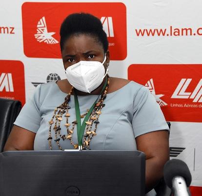 Maria Judite Mungoi inspectora do Trabalho da Cidade de Maputo