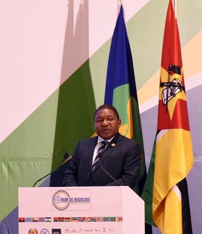 Filipe Nyusi Presidente da Republica e Presidente em Exercicio da SADC