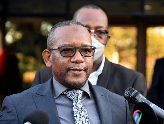 Tuaha Mote director geral do Instituto Nacional das Comunicacoes de Mocambique INCM