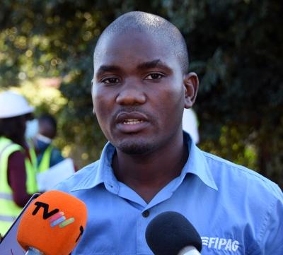 Joao Francisco director de Distribuicao em Baixa do FIPAG Regiao Metropolitana de Maputo