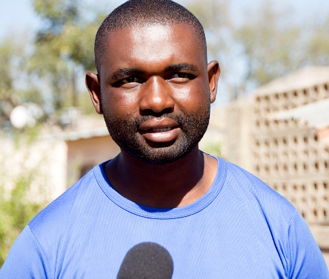 Jorge Matonse representante dos moradores de Mulotana Bile