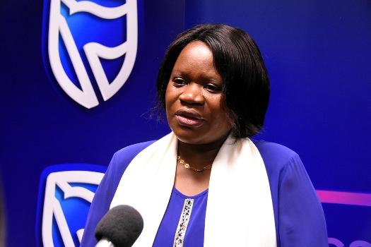 Monica Macamo directora de Pessoas e Cultura do Standard Bank