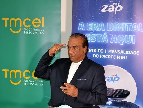 Mahomed Rafique Jusob presidente do Conselho de Administracao da Tmcel Mocambique Telecom 1